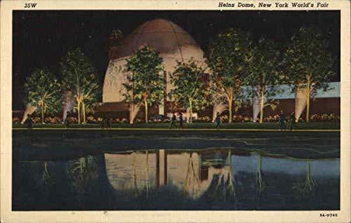 Postcard Dome - Heinz Dome 1939 NY World's Fair Original Vintage Postcard