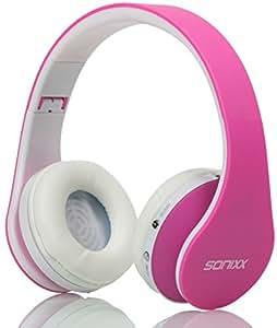 Amazon.com: Sonixx BTX1 Kids Bluetooth Headphones (Pink