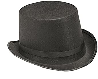 Rubie's Costume Child's Black Dura-Shape Top Hat