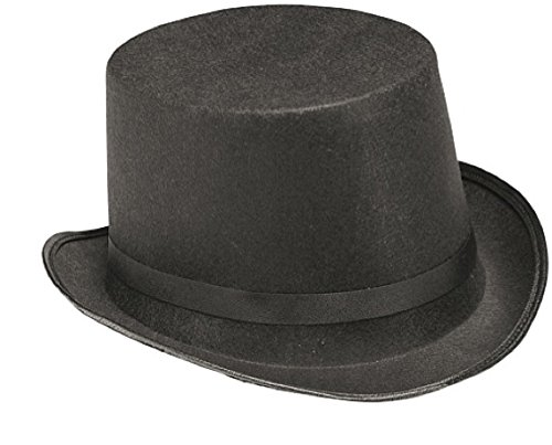 Steampunk Costumes For Kids (Rubie's Costume Child's Black Dura-Shape Top Hat)
