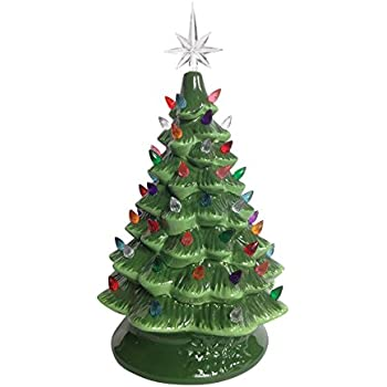 Amazon Com Ceramic Christmas Tree 25 Inches Tall And