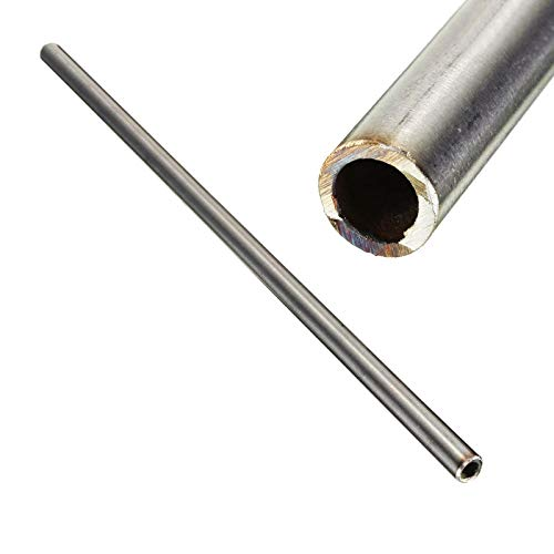 1pc New 304 Stainless Steel Capillary Tube 12mm OD 10mm ID 250mm Length Silver for Industry Tool