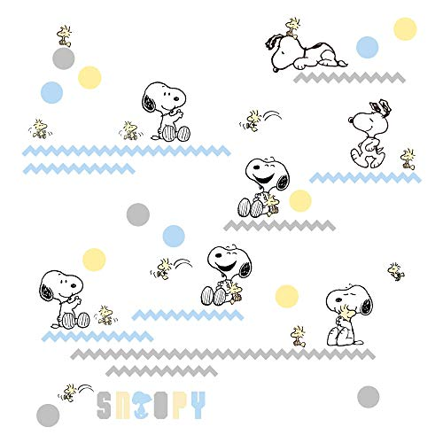 Wall Decals Appliques (Lambs & Ivy My Little Snoopy Wall Appliques)