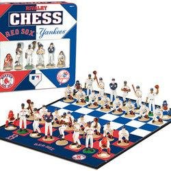 Red Sox versus Yankees MLB Rivalry Chess Set (TIN)