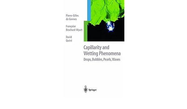 CAPILLARITY AND WETTING PHENOMENA PDF DOWNLOAD