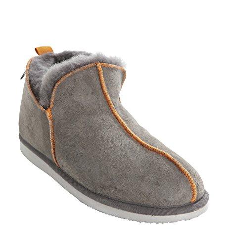 Shepherd , Chaussons pour homme grigio/arancio