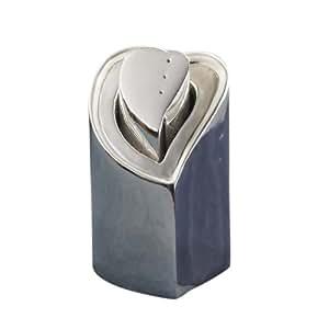 Lenox Forevermore Metal Heart in Heart Salt & Pepper