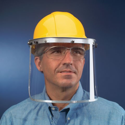 MCR Safety 181540 Polycarbonate Clear Face Shields -