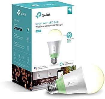 2-Pack TP-Link LB110 Wi-Fi Smart LED Light Bulb