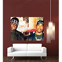 BIGGIE AND TUPAC 2PAC GIANT WALL POSTER PRINT G632