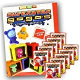 Gogo's Crazy Bones Superstar Series 6 Starter Package (1 Sticker Album + 10 Packets)