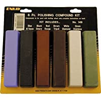 Enkay 149-C 6 pc. Polishing Compound Kit, carded by Enkay