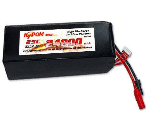 キーポン KYPOM リポバッテリー K6 22.2V24000mAh 25C (KT24000/25-6S) B0759FMRF1