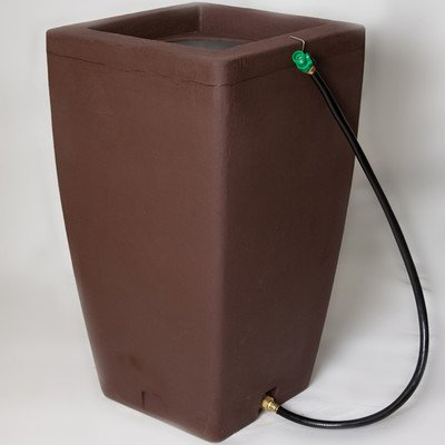 Algreen 84312 Products Madison Rain Barrel , Brownstone,49 Gallon by Algreen