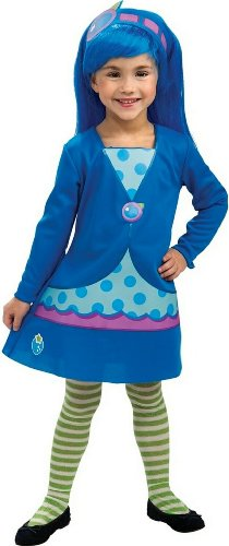 Rubies Strawberry Shortcake and Friends Blueberry Muffin Costume, Toddler]()