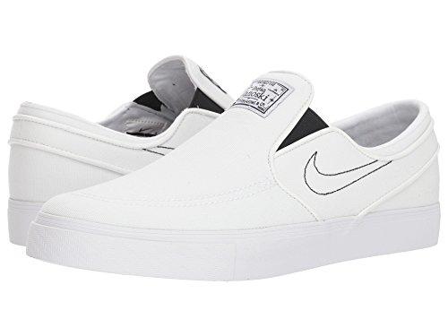 [NIKE(ナイキ)] メンズランニングシューズ?スニーカー?靴 Zoom Stefan Janoski Slip-on Canvas White/White/Black 10 (28cm) D - Medium