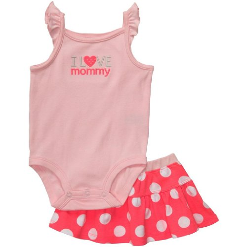 Carter's 'I Love Mommy' Baby Girl Skort Set