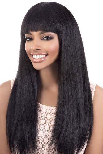 Motown Heat (Motown Tress - Y. MAXI - Heat Resistant Fiber Full Wig in OFF BLACK)