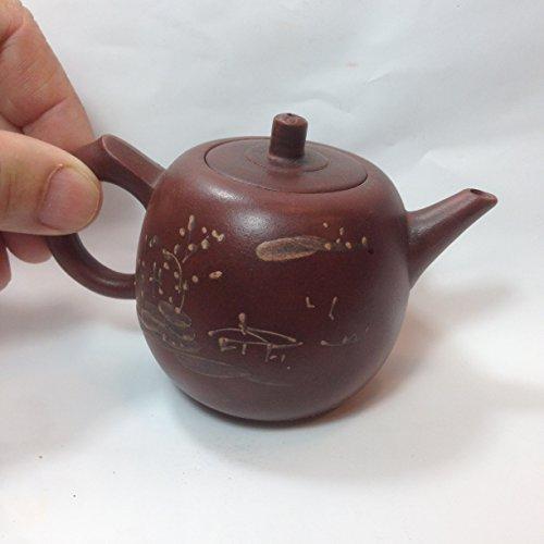 Yixing Purple Sand Pottery Small Teapot