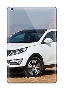 New Style New Design Shatterproof Case For Ipad Mini 3 (2014 Kia Sportage White)