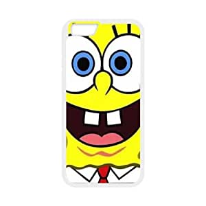 iphone6 4.7 inch case(TPU), spongebob Cell phone case White for iphone6 4.7 inch - HHKL3333641
