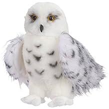 """Douglas Cuddle Toys Wizard Snowy Owl 8"""" By"""