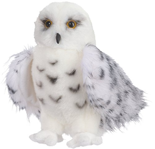 Douglas Wizard Snowy Owl Plush Stuffed Animal -