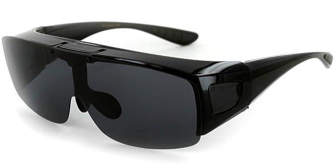 Amazon.com: Gafas de sol polarizadas de tamaño medio con ...