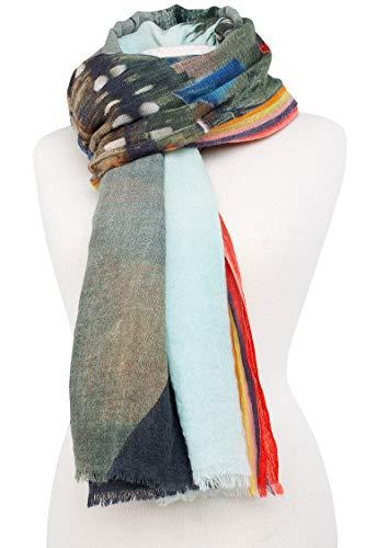 Unica Taglia Donna Becksöndergaard Sciarpa Multicolore WgxqIWz6