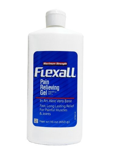 FLEXALL MAXIMUM STRENGTH PAIN RELIEF 16OZ ALOE VERA