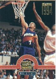 1994 SkyBox USA Kevin Johnson #93G Kevin Johnson/NBA Update Near -