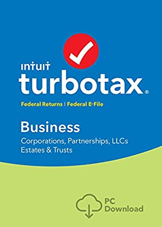 TurboTax Business 2016 Tax Software Federal + Fed Efile PC download