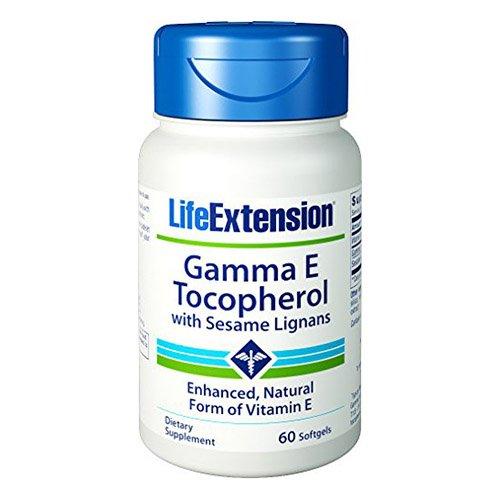 Life Extension Gamma E 340 Mg, 60 softgels