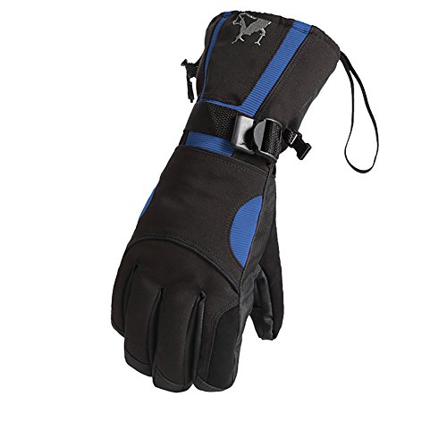Per Guanti Zerlar Gli Zip Ispessimento All'aria Da Mens Impermeabile Tasca Nero Moto Sport Sci blu Con Snowboard Aperta Ciclismo xqYwHHRpt1