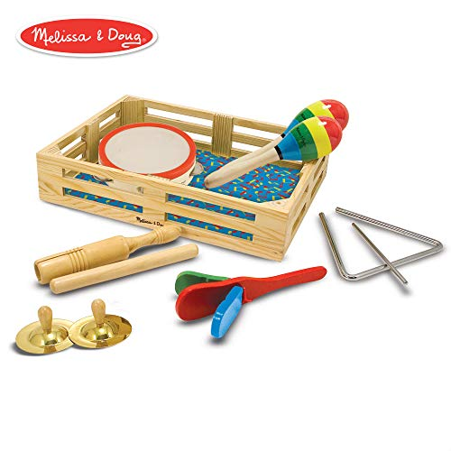 Melissa & Doug Band-in-a-Box Clap! Clang! Tap! Musical