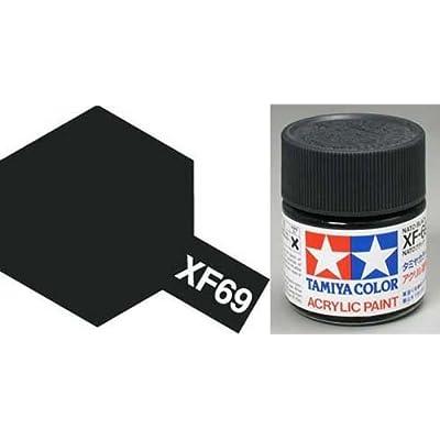 TAMIYA 81769 Acrylic Mini XF69 NATO Black 1/3 oz: Toys & Games