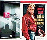 James Dean Bundle (2-Pack, 3-DVD): Biography (A&E, 2002) / Rebel Without a Cause (2-DVD Special Edition, 1955) (Total 3 hrs 31 min)