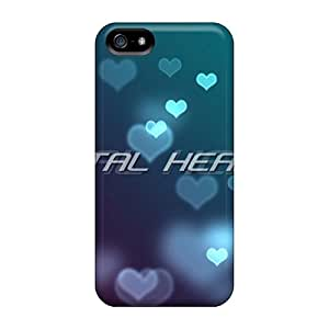 JackieAchar Iphone 5/5s Well-designed Hard Case Cover Latest 21hearts Protector