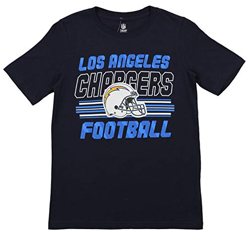 Outerstuff NFL Youth (4-18) Team Color Short Sleeve Tee, Los Angeles Chargers X-Small (4-5)