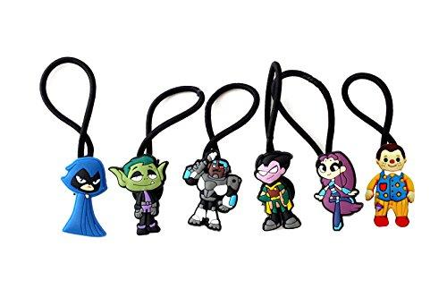 [AVIRGO 6 pcs Elastic Hair Bands Hairband Hairbands Ponytail Holders Set # 103-5] (Raven Dc Costume)