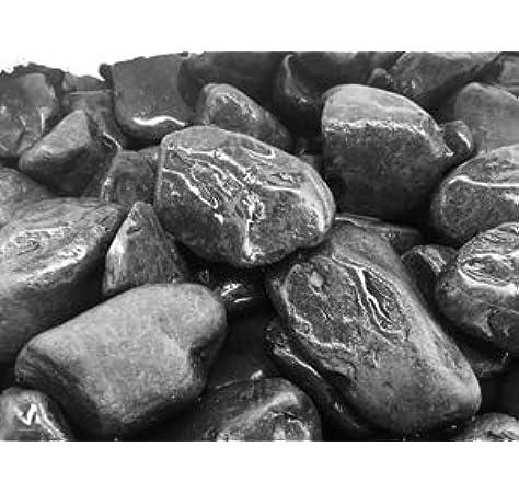 Saco Piedra Jardin Canto RODADO Negro 20-40 MM 20 KG: Amazon.es: Jardín