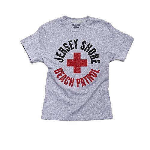 Jersey Shore - Beach Patrol - Lifeguard Cross Boy's Cotton Youth ()