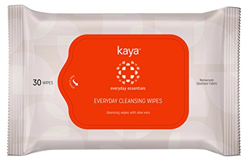 Kaya Clinic Everyday Cleansing Wipes, 30 Count