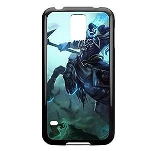 Hecarim-001 League of Legends LoLDiy For Iphone 5C Case Cover Plastic Black