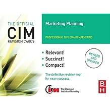 cim revision cards marketing planning 04 05 knowledge marketing