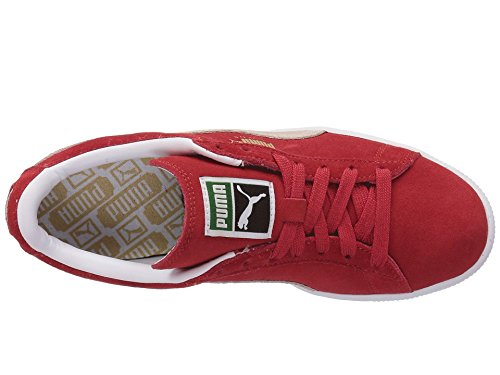 Rouge Mixte Classic Puma Baskets 1 Suede blanc Adulte 6aa1wxYg