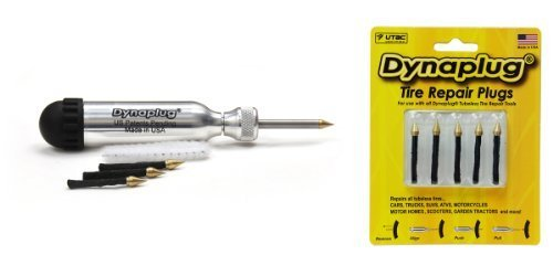 Dynaplug Ultralite Tubeless Tire Repair Tool with Extra Plugs Model: Car/Vehicle Accessories/Parts