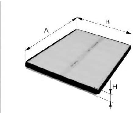 Filter Innenraumluft Filtron K1122