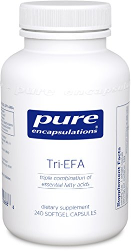 Pure Encapsulations - Tri-EFA - Triple Combination of Essential Fatty Acids for Cardiovascular, Emotional, Joint and Skin Health* - 240 Softgel Capsules