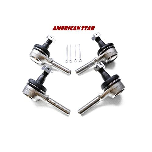 Yamaha YFM 350 Wolverine Inner and Outer Tie Rod Ends Both Sides